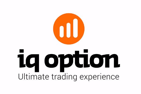 IQ Option Logo White Background