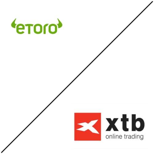 eToro compared to XTB