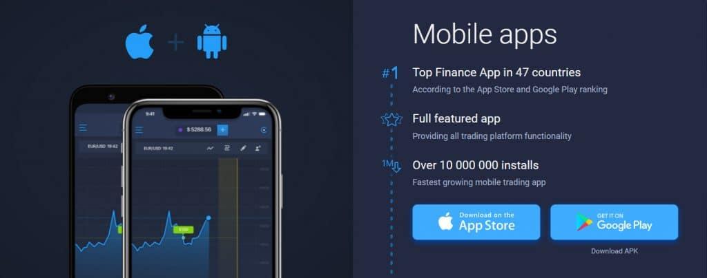 Mobile App ExpertOption